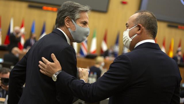 Bakan Çavuşoğlu, ABD Dışişleri Bakanı ile Afganistan'daki durumu değerlendirdi