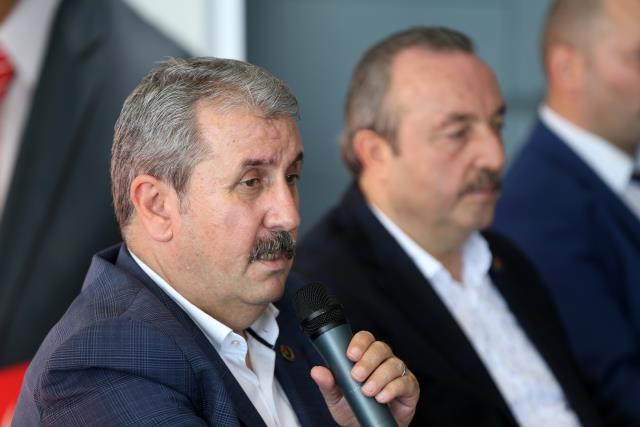 BBP Genel Başkanı Mustafa Destici, Trabzon'da gündemi değerlendirdi Açıklaması