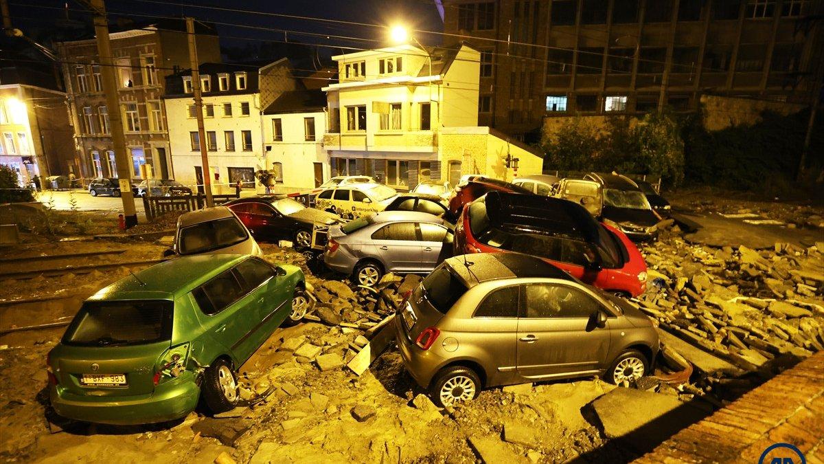 Belçika'da 10 gün sonra yeniden sel felaketi