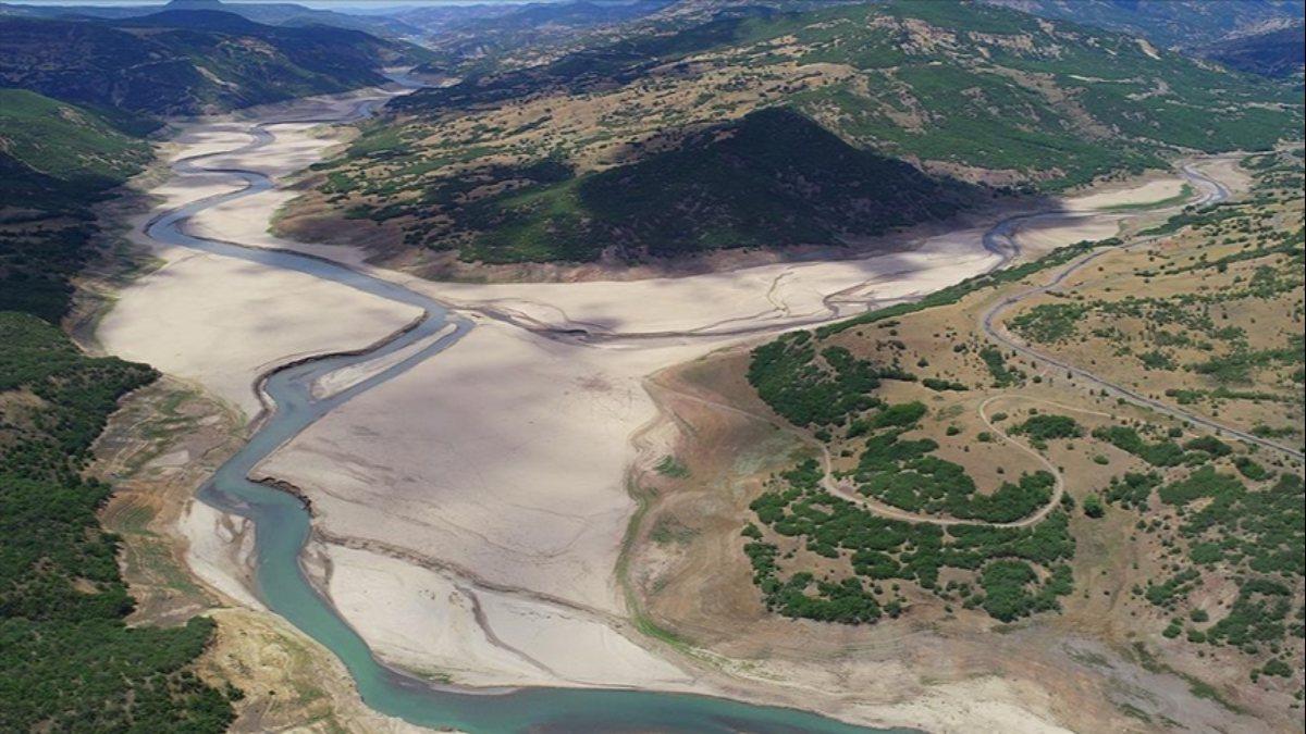 Bingöl'deki su kaynakları kuraklıktan etkilendi