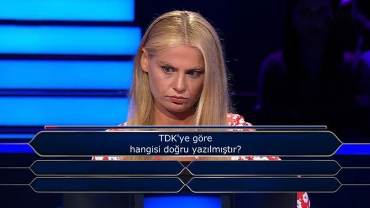 Cevap sorunun içindeydi! Milyoner'e damga vuran yarışmacı heyecanına yenildi