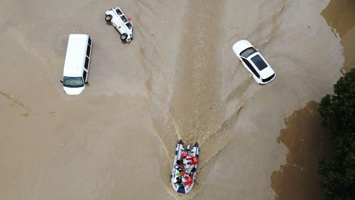 Çin'deki sel felaketinde ölü sayısı artıyor