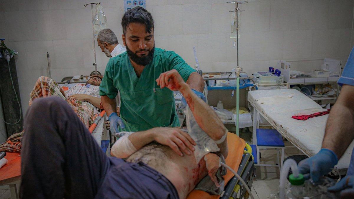 Esad rejimi, bayramda İdlib'e saldırdı