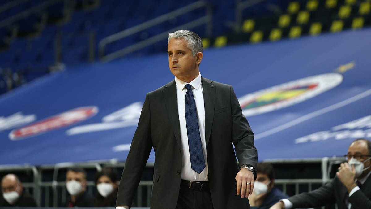 Igor Kokoskov Fenerbahçe'ye veda etti