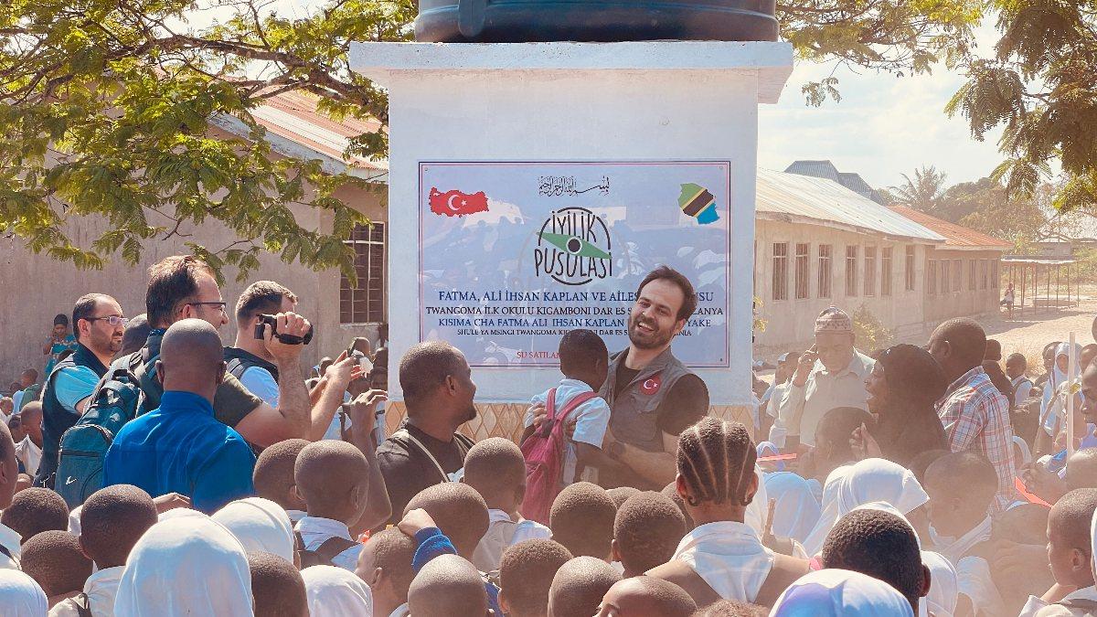 İyilik Pusulası'ndan Tanzanya'ya 2 su kuyusu