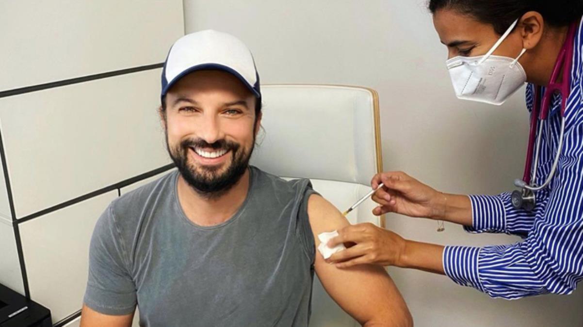 Kuşkularını gideren Tarkan, aylar sonra ilk koronavirüs aşısını yaptırdı