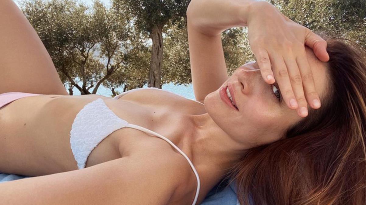 Oyuncu İrem Sak bikinili pozunu paylaştı, Cemal Can Canseven ve Reynmen'den yorum gecikmedi