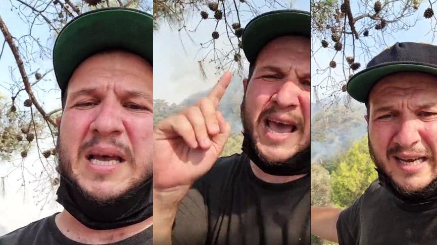 Şahan Gökbakar isyan etti: Ormanlarımız cayır cayır yanıyor, sabahtan beri havadan müdahale yapılmadı