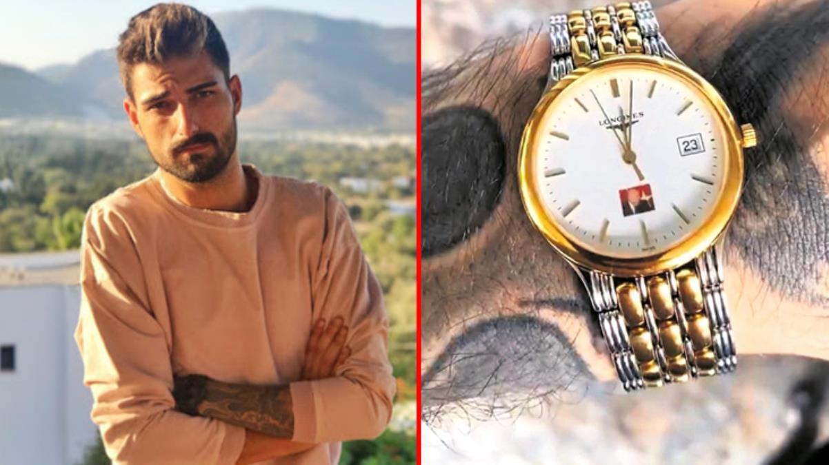 Şarkıcı İdo Tatlıses'in gösterişli saati Süleyman Demirel'in hediye çıktı
