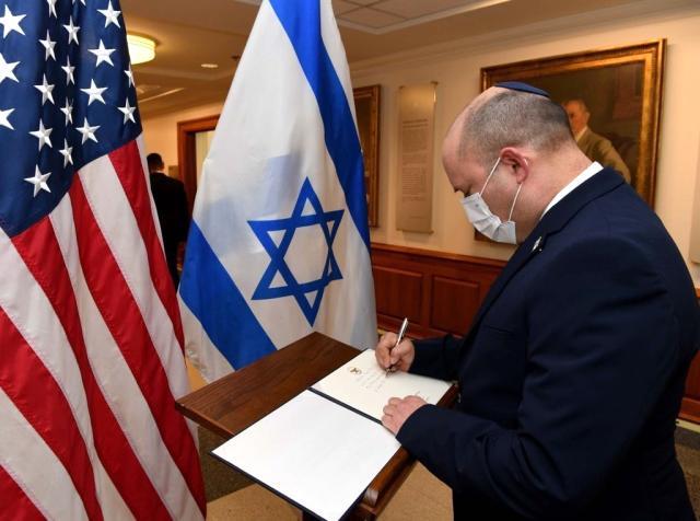 Son dakika: İsrail Başbakanı Bennett, ABD Savunma Bakanı Austin ile görüştü