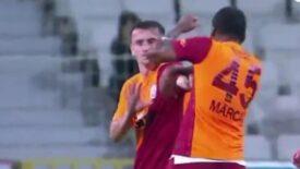 Son dakika – Marcao, Kerem Aktürkoğlu'na kafa atıp, yumrukladı! Giresunspor – Galatasaray maçında büyük kavga