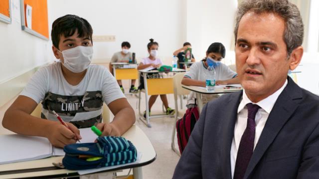Son Dakika: Milli Eğitim Bakanı Özer: Velilerimizin içi rahat olsun, öğrencilerimizi salgından koruyacak sistem hazır