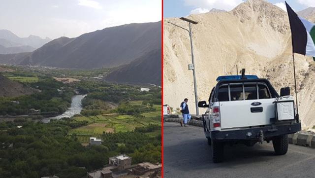 Taliban'ın giremediği  direnişin son kalesi Pencşir görüntülendi