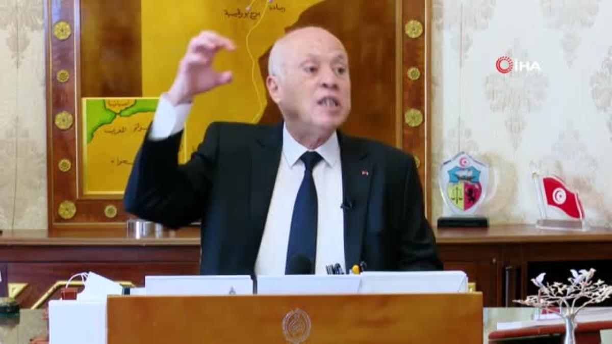 """Tunus Cumhurbaşkanı Said: """"Mevcut parlamento devlet için bir tehlikedir"""""""